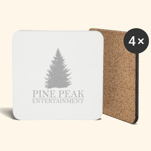 Pine Peak Entertainment Grey - Onderzetters (4 stuks)