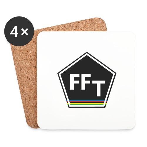 FFT logo colour (Fastfitnesstips) - Coasters (set of 4)