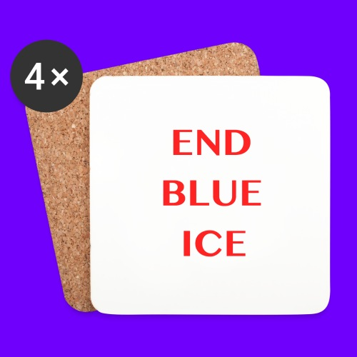 END BLUE ICE - Coasters (set of 4)