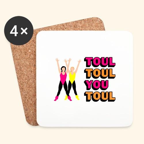 Toul Toul You Toul - Dessous de verre (lot de 4)