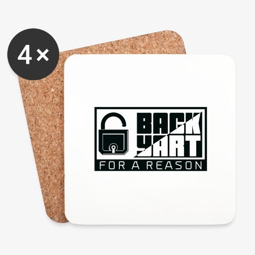 backart - for a reason - Coasters (set of 4)