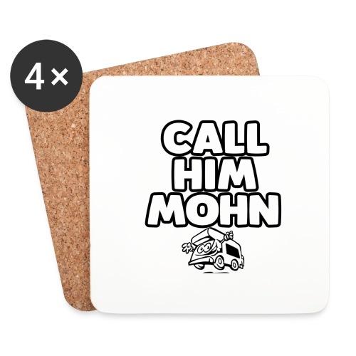 CallHimMohn - Untersetzer (4er-Set)