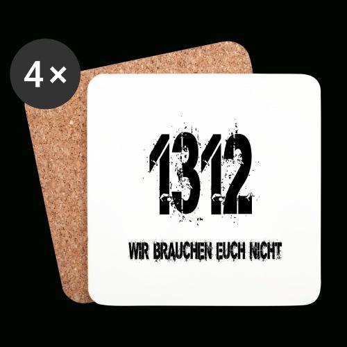 1312 BOSS - Untersetzer (4er-Set)