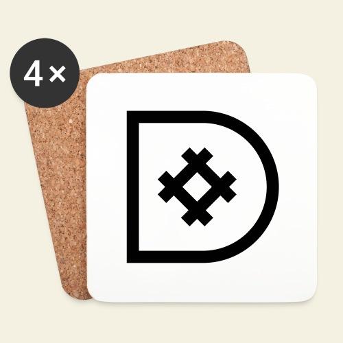 Icona de #ildazioètratto - Sottobicchieri (set da 4 pezzi)
