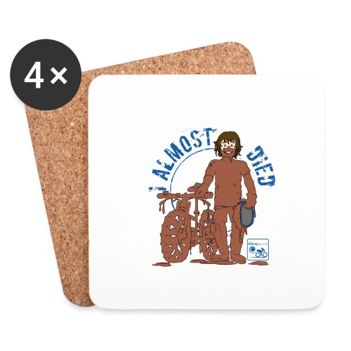 I almost died - Coasters (set of 4)