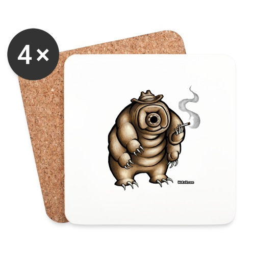 Smokey the Water Bear - Coasters (set of 4)