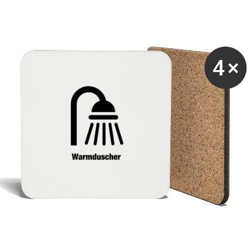 Warmduscher - Untersetzer (4er-Set)