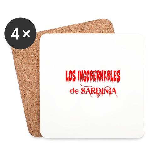 LosIngobernablesDeSardinia - Sottobicchieri (set da 4 pezzi)