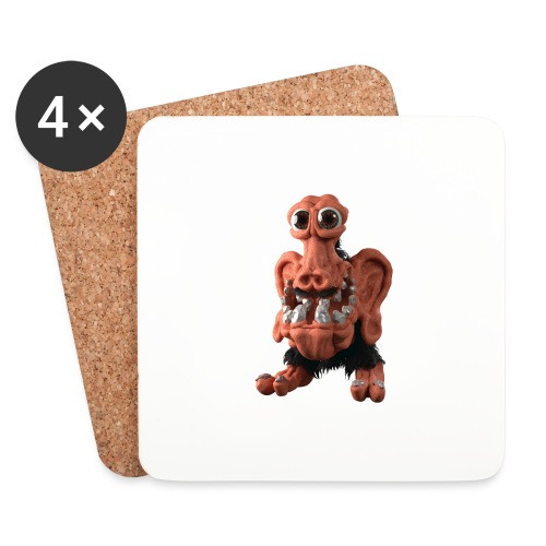 Very positive monster - Coasters (set of 4)