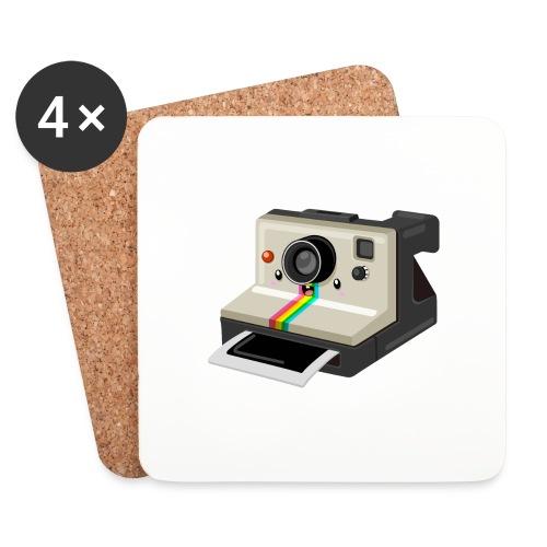 Polaroid 1000 kawaii - Dessous de verre (lot de 4)