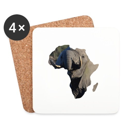 African Elephant - Untersetzer (4er-Set)