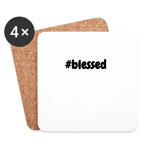 blessed - Lasinalustat (4 kpl:n setti)
