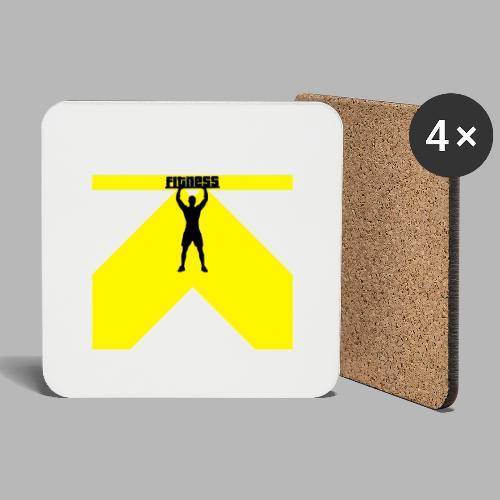 Fitness Lift - Untersetzer (4er-Set)