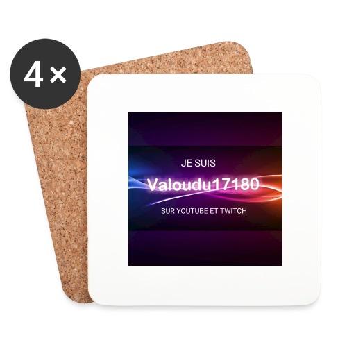 Valoudu17180twitch - Dessous de verre (lot de 4)