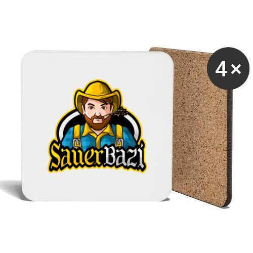 SauerBazi Logo - Untersetzer (4er-Set)