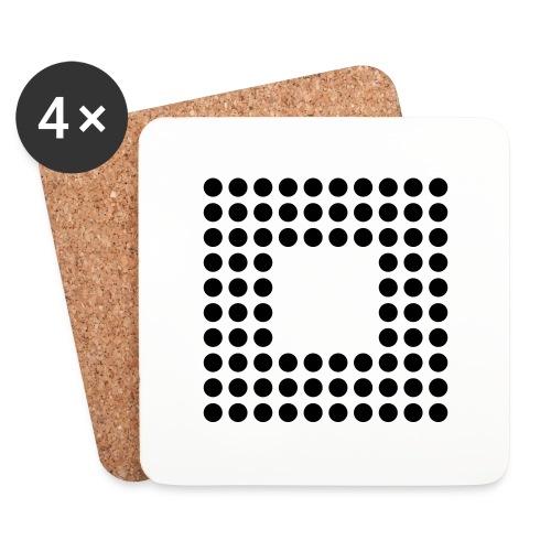 Minimal Square - Posavasos (juego de 4)