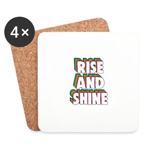 Rise and Shine Meme - Coasters (set of 4)