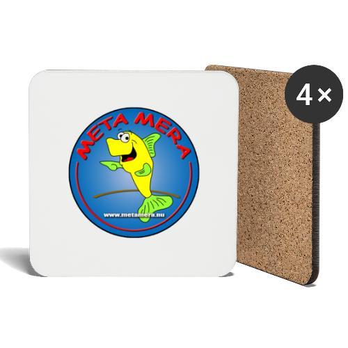 metamera_fish - Underlägg (4-pack)