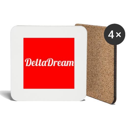 DeltaDream- Original Red - Dessous de verre (lot de 4)