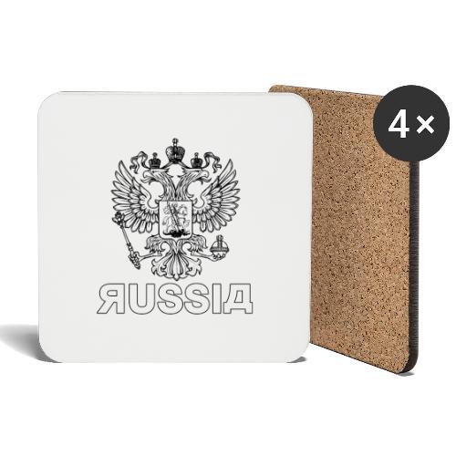 RUSSIA - Untersetzer (4er-Set)