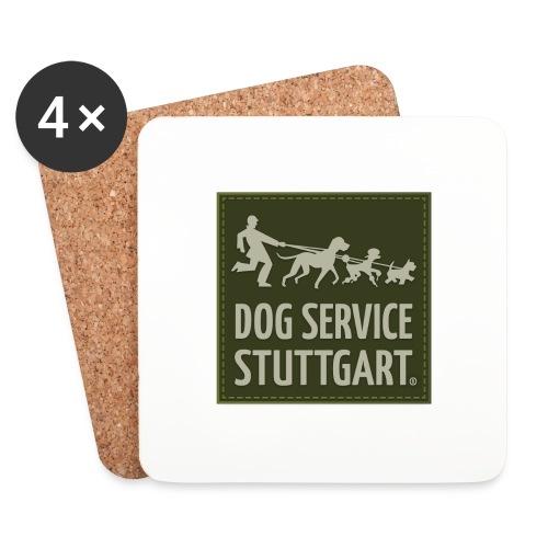 Dog Service Stuttgart Grün - Untersetzer (4er-Set)