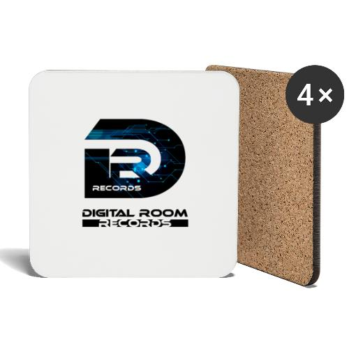 Digital Room Records Official Logo effect - Coasters (set of 4)