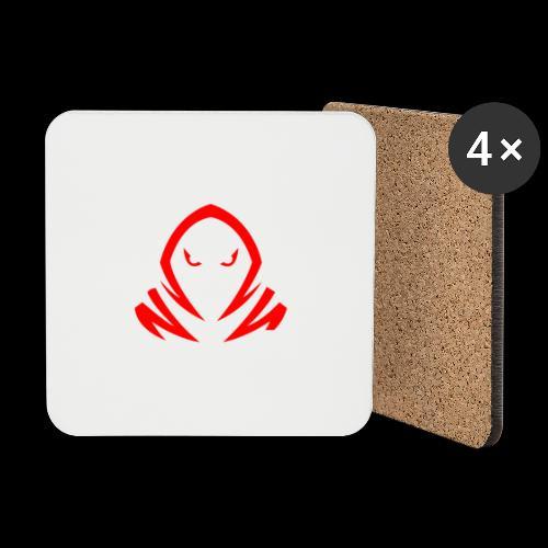 New Official TagX Logo - Lasinalustat (4 kpl:n setti)