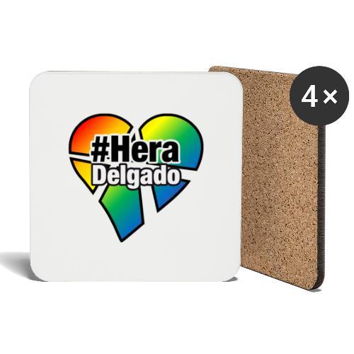 #HeraDelgado - Untersetzer (4er-Set)