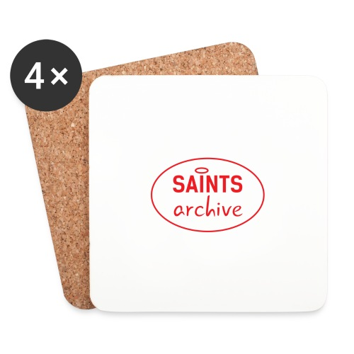 Saints Archive - White Logo - Coasters (set of 4)