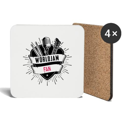 WorldJam Fan - Coasters (set of 4)