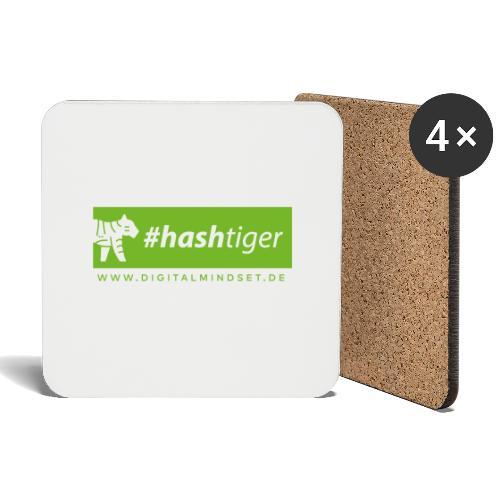 hashtiger - Untersetzer (4er-Set)