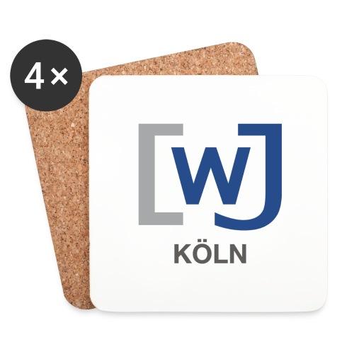 WJ Köln - Untersetzer (4er-Set)