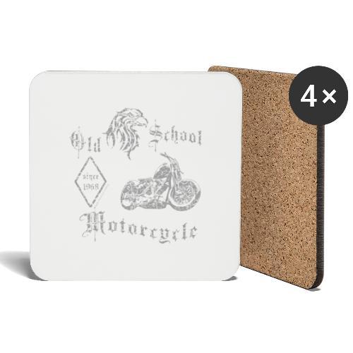 Old School MC 1968 - Untersetzer (4er-Set)