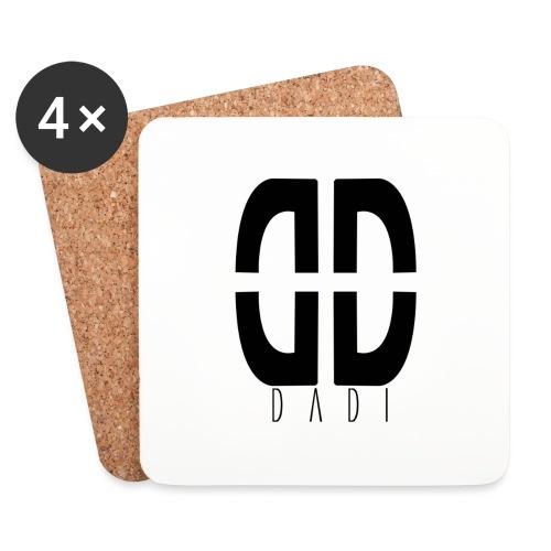 dadi logo png - Untersetzer (4er-Set)