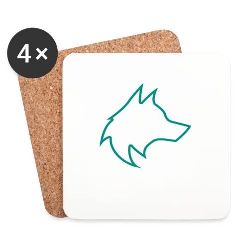 Wolf Pack Logo (NEW) - Coasters (set of 4)