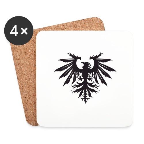 NEW Bird Logo Small - Coasters (set of 4)