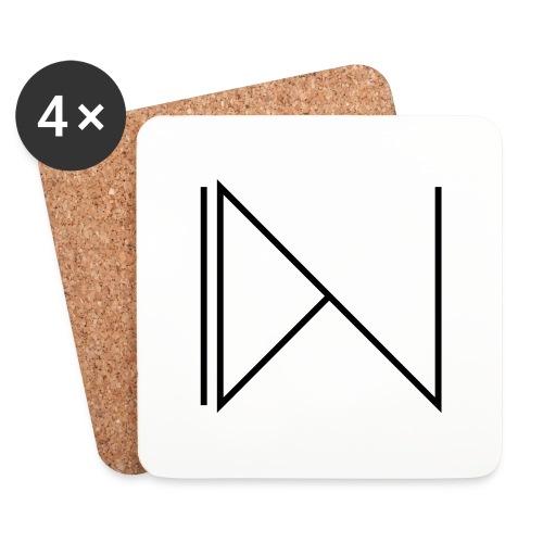 Icon on sleeve - Onderzetters (4 stuks)