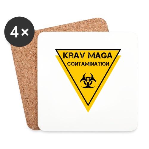 biohazard krav maga - Sottobicchieri (set da 4 pezzi)
