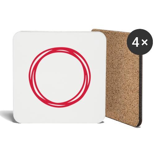 Circles and circles - Coasters (set of 4)