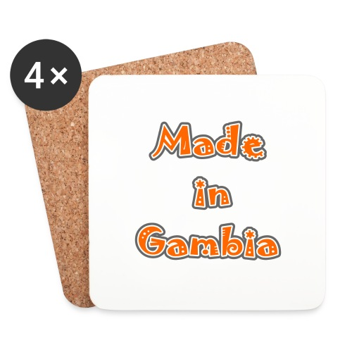 Made in Gambia - Coasters (set of 4)