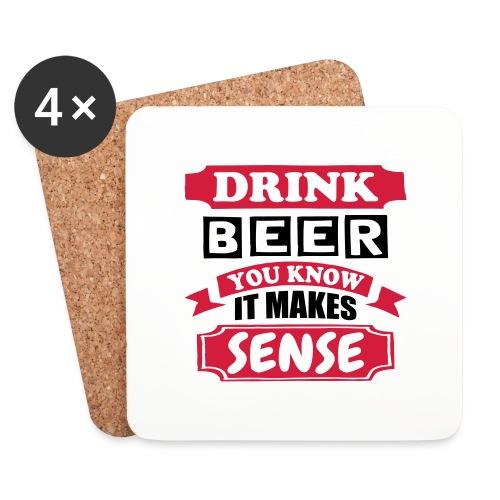 Drink Beer - Coasters (set of 4)