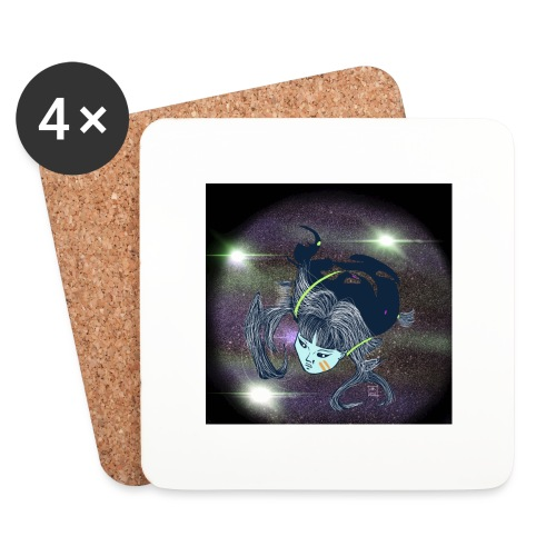 the Star Child - Coasters (set of 4)