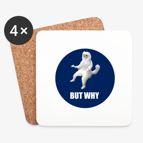 BUTWHY - Coasters (set of 4)