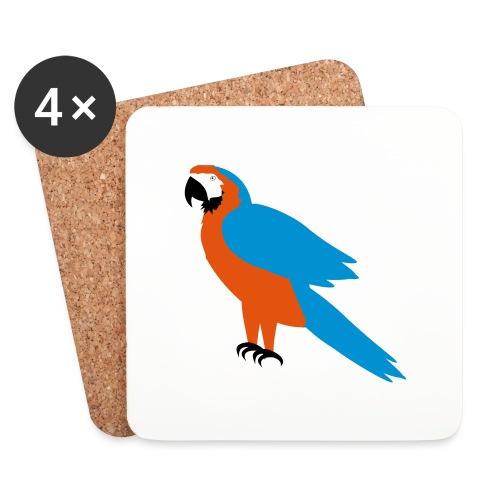 Parrot - Sottobicchieri (set da 4 pezzi)