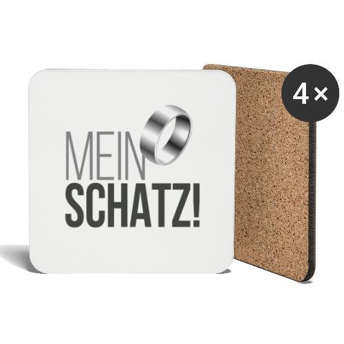 Mein Schatz! - Untersetzer (4er-Set)