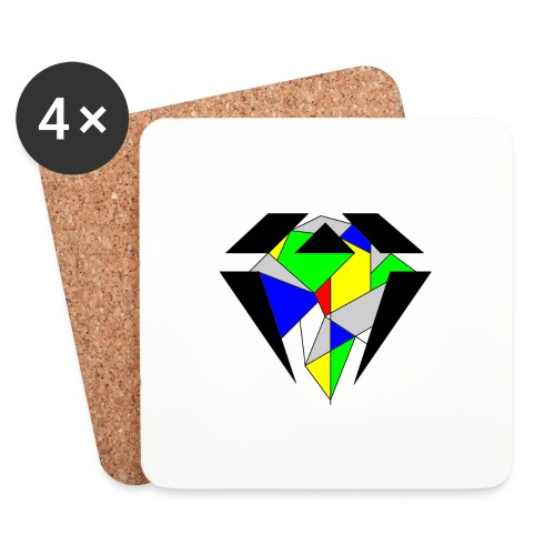 J.O.B. Diamant Colour - Untersetzer (4er-Set)