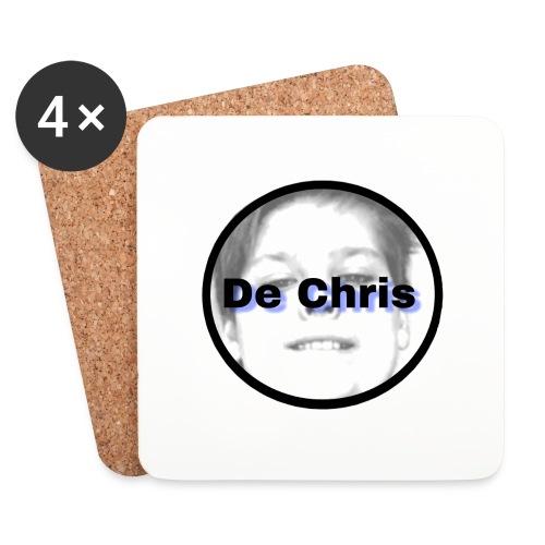 De Chris logo - Onderzetters (4 stuks)