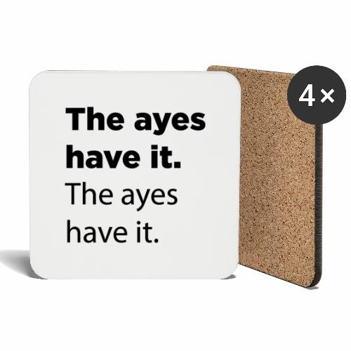 The ayes have it - Coasters (set of 4)