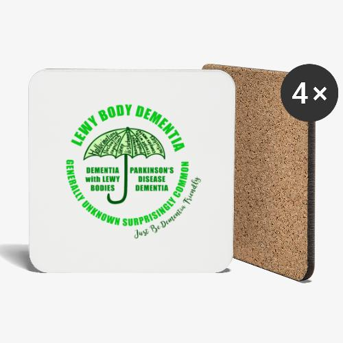 Lewy Body Dementia - Coasters (set of 4)