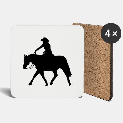 Ranch Riding extendet Trot - Untersetzer (4er-Set)